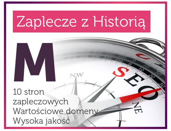 Zaplecze Seo z Historią (M)