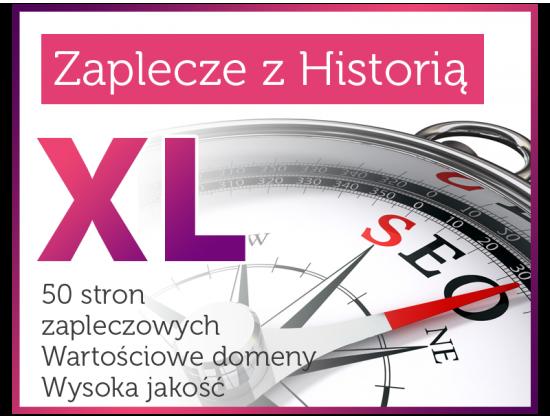 Zaplecze Seo z Historią (XL)