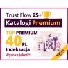 TOP 40 Katalogów Premium z podlinkowaniem